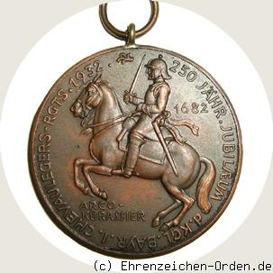 Jubiläumsmedaille 1. Chevaulegers-Regiment