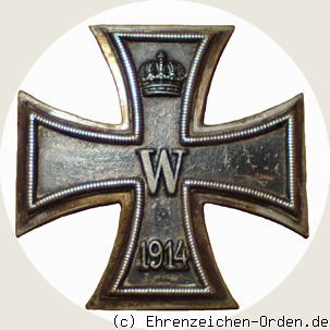 Eisernes Kreuz 1.Klasse 1914 an Nadel (KO)