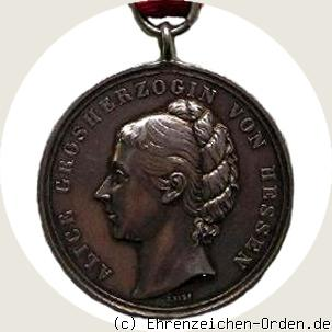 Alice-Medaille in Silber