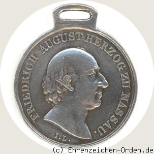 Waterloo-Medaille in Silber