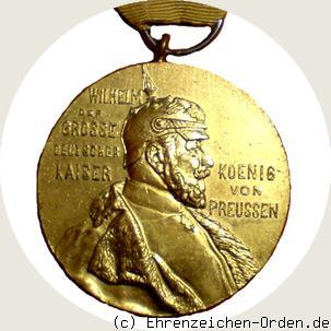 Kaiser Wilhelm I Erinnerungsmedaille 1897