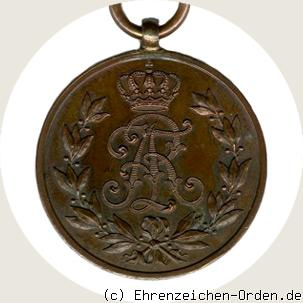 Friedrich August Medaille in Bronze 1905