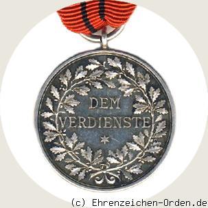 Silberne-Verdienstmedaille-Wuerttemberg-