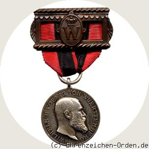 Recognition Medal of the King Karl Jubiläumsstiftung 1893