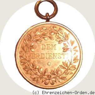 Wuerttemberg-Goldene-Verdienst-Medaille-