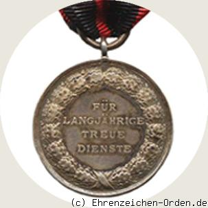 Medal of the King Karl Jubilee Foundation Free State of Württemberg back
