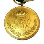 Anhalt-Bernburg-Goldene-Medaille-50Jahre-1835-1