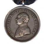 Bayern-Silberne-Militaer-Verdienst-Medaille-kleines-Brustbild-Losch-1