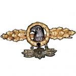 Frontflugspange-Aufklaerer-Gold-Sternanhaenger-1
