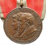 Lippe-Medaille-Einzug-Graf-Regent-Ernst-1