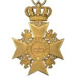 Mecklenburg-Strelitz-Goldenes-Verdienstkreuz-1