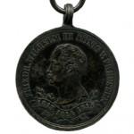 Preussen-Ehrendenkmuenze-1863-Nichtkaempfer-1