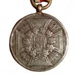 Preussen-Kriegsdenkmuenze-1870-Nichtkaempfer-1