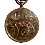 Preussen-Kriegsdenmuenze-1864-Kaempfer-1