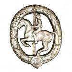Reiterabzeichen-Silber-1930-1