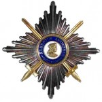 Sachsen-Albrechtsorden-Bruststern-Komtur-Schwerter-1