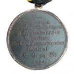 Sachsen-Coburg-Saalfeld-Medaille-Freiwillige-1814-2