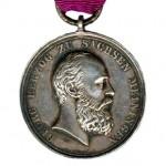 Sachsen-Meiningen-Medaille-Ernestinischer-Hausorden-Georg-1