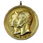 Weimar-Goldene-Hochzeit-Medaille-1892-1