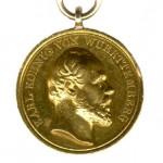 Wuerttemberg-Goldene-Zivilverdienst-Medaille-1864-1